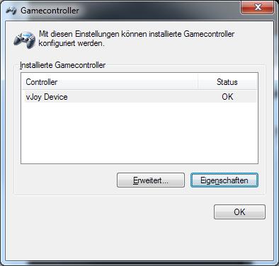 Virtual joystick